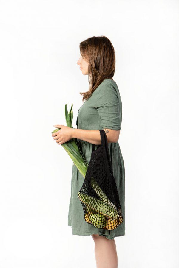 torba Bo Weevil, ekologiczna siatka paryżanka na zakupy