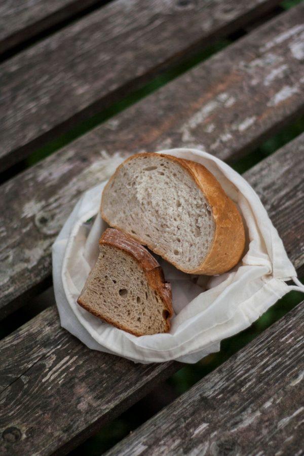 Wielorazowy woreczek na chleb, pieczywo