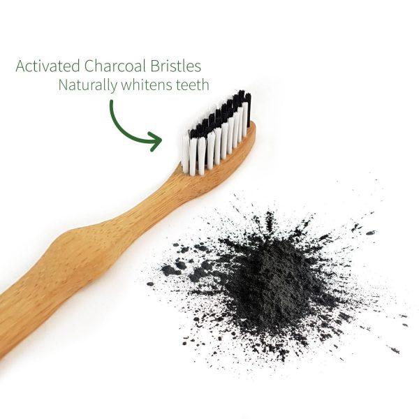 Bambusowa, ekologiczna i biodegradowalna szczoteczka do zębów marki Bambaw