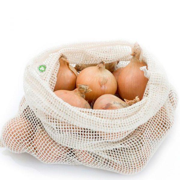 wielorazowe woreczki na warzywa zero waste