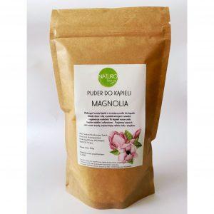 Naturologia, puder do kąpieli o zapachu magnolii 300 g