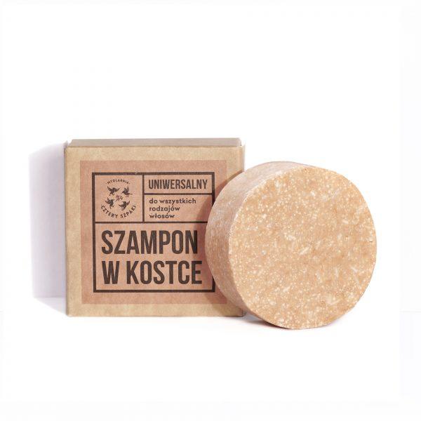 Uniwersalny szampon w kostce w stylu Zero Waste - Mydlarnia Cztery Szpaki
