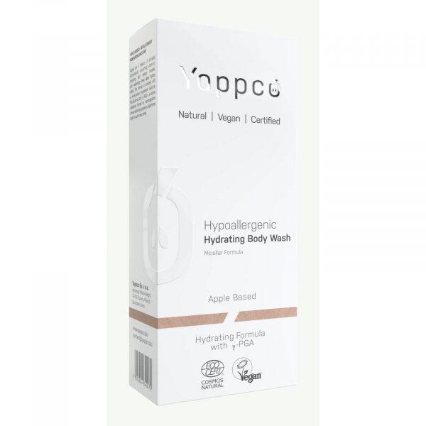 Yappco, Hipoalergiczny, nawilżajacy żel pod prysznic formuła micelarna