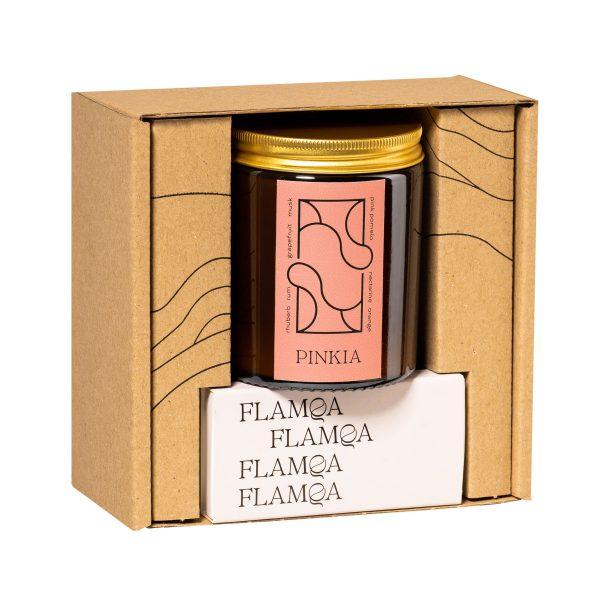 Flamma naturalna świeca rzepakowa PINKIA Flamqa