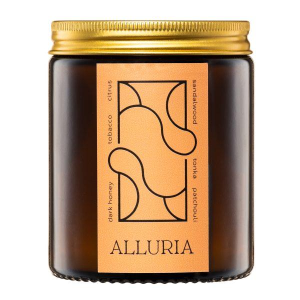 Flamma naturalna świeca rzepakowa ALLURIA
