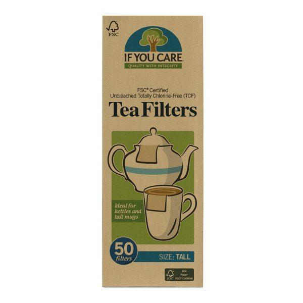 If you care filtry do herbaty długie papierowe
