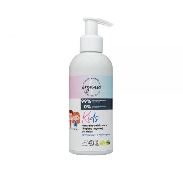 4organic Płyn do higieny intymnej dla dzieci Kids 200 ml
