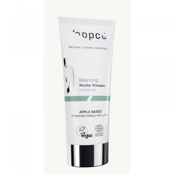 Micelarny, regulujący sebum szampon do włosów przetłuszczających się Yappco