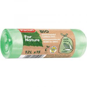 Biodegradowalne worki na śmieci 12L Paclan