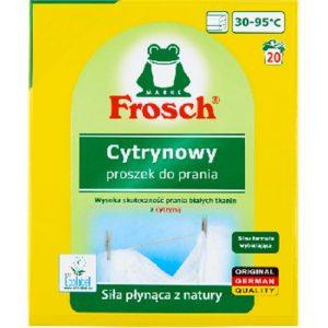 Frosch proszek do prania białych tkanin z cytrynowy 1,35kg