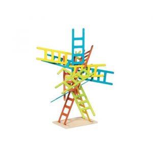 Gra rodzinna, zręcznościowa Drabinki, rozwijająca cierpliwość i koordynację ruchową, 4y+, Goki