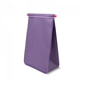 Lunch Pack Hip Silicone Plum M