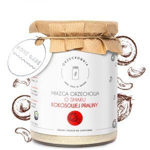 Rafaelka - miazga orzechowa o smaku praliny kokosowej