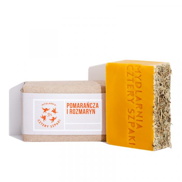 Naturalne mydło - Pomarańcza i Rozmaryn