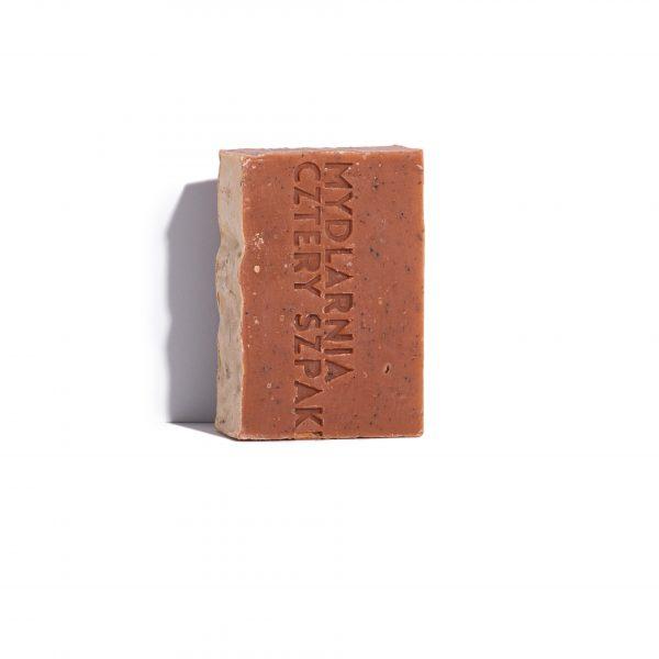 Cztery Szpaki, Naturalne mydło peelingujące Truskawka i Werbena 110 g