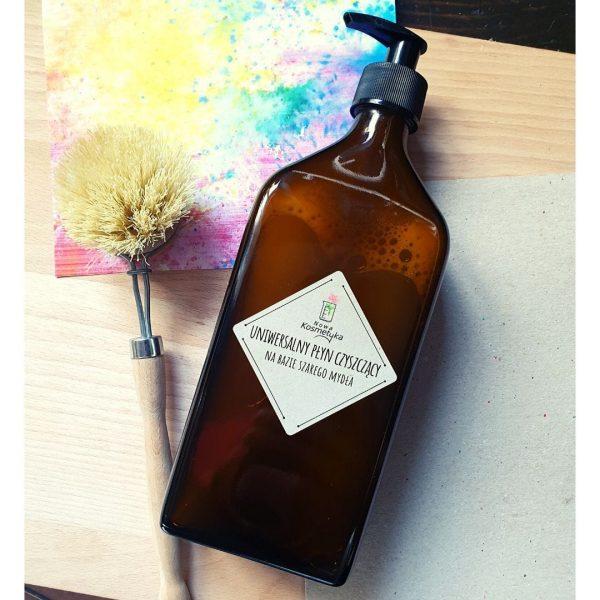 Nowa Kosmetyka, Uniwersalny płyn czyszczący szare mydło (z pompką)