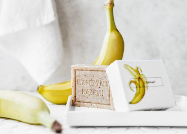 Mydło Banan - Ministerstwo Dobrego Mydła Naturalne, ręcznie wytwarzane