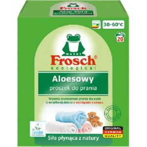 Frosch Proszek do prania tkanin kolorowych aloesowy 1,35 kg