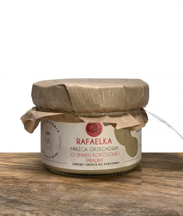 Rafaelka Orzechownia Miazga o smaku praliny kokosowej