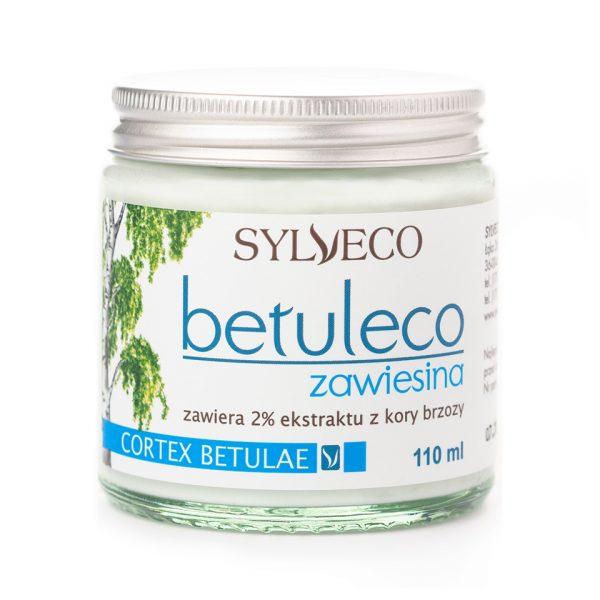 Betuleco jest preparatem zawierającym 2% ekstraktu z kory brzozy o działaniu przyspieszającym regenerację skóry.