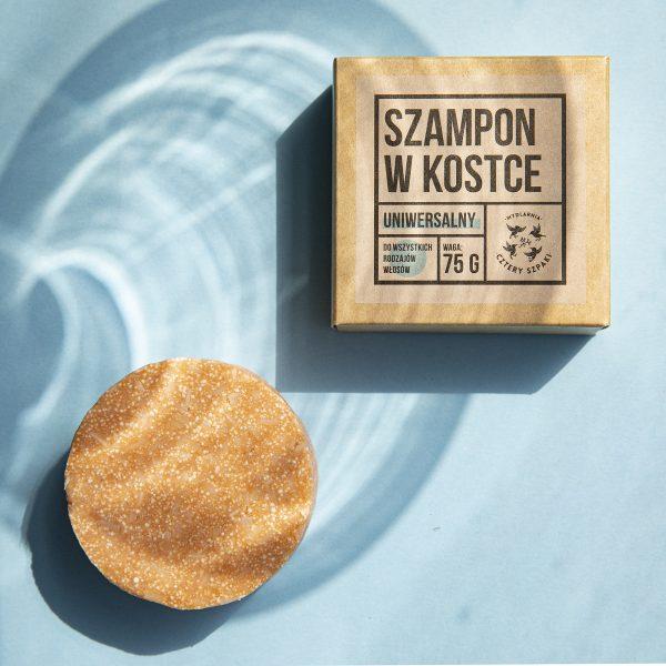 Uniwersalny szampon w kostce - Mydlarnia Cztery Szpaki