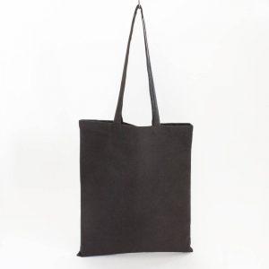 Bawełniana torba na zakupy czarna