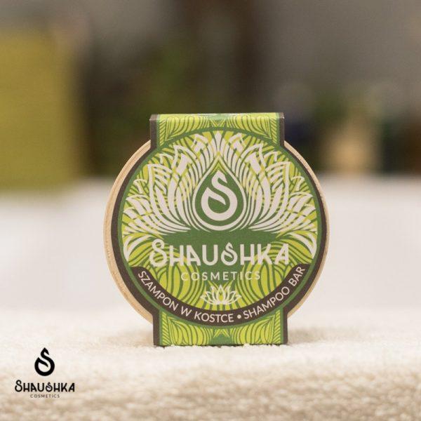Shaushka, Szampon w kostce Ajurwedyjski TULSI – Święta Bazylia
